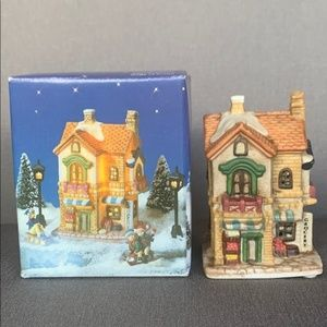 Christmas Village Miniature Grocery Store